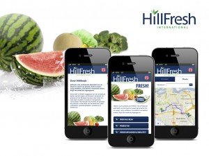 Hillfresh Mobiele website